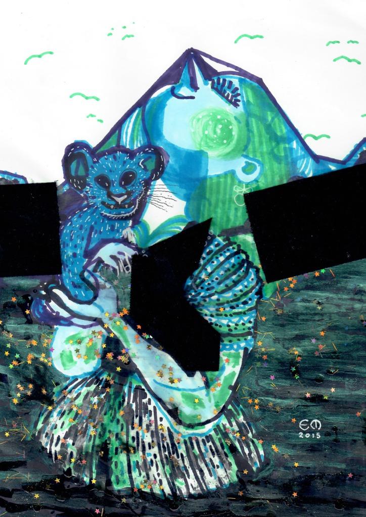 Blue Cub - Elis Minborg